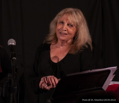 Francesca Solleville (photo Ghislain Debailleul)